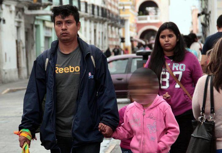 La temperatura en Mérida descendió desde temprana hora.(Jorge Acosta/Milenio Novedades)