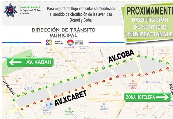 Preparan otros cambios en las vialidades en el centro de la ciudad. (Cortesía/SIPSE)