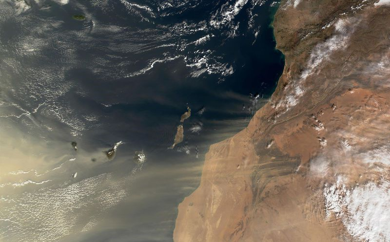 Polvo del Sahara inhibió la formación de ciclones tropicales