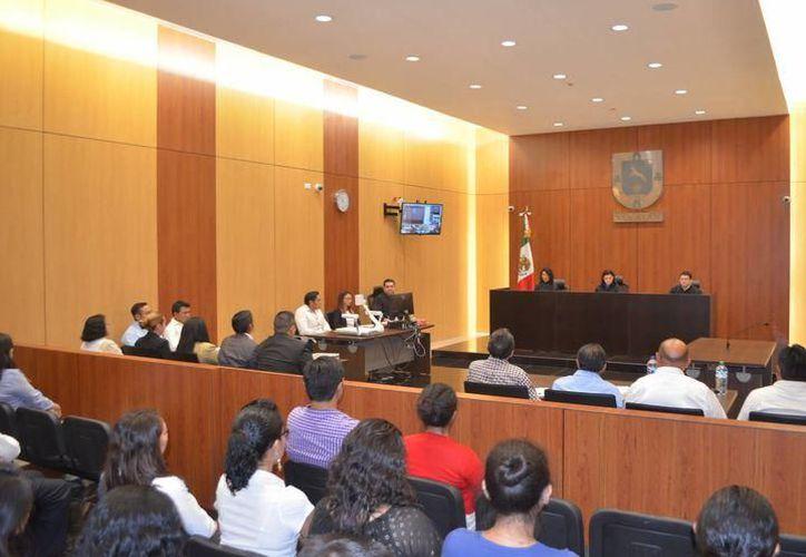 Los sujetos fueron presentados este lunes 10 ante la juez Primero de Control de Kanasín. (Archivo/Sipse)