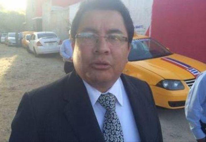 Carlos Moreno Alcántara, titular de la Secretaría de Vialidad y Transporte. (Milenio)