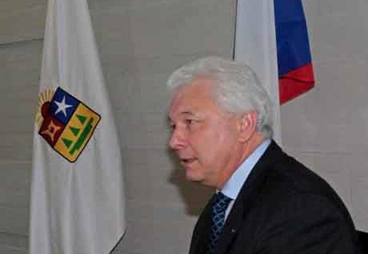 Embajador de la República Checa en México, Lubomir Hladík. (Contexto/Internet)