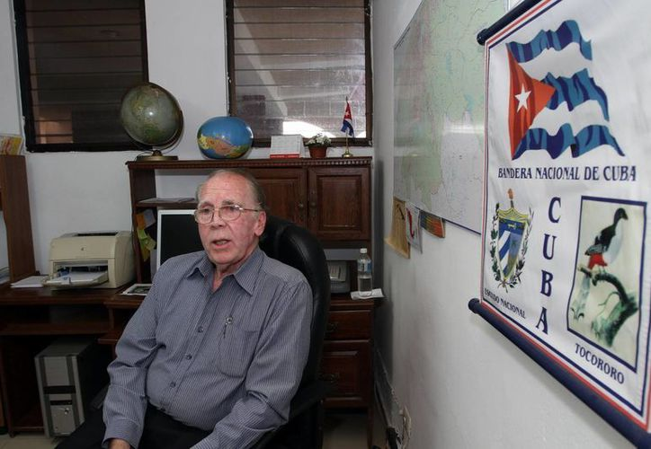 """""""Llevo más de 30 años de trabajar en el Ministerio de Relaciones Exteriores de Cuba y he desempeñado diferentes responsabilidades"""". dijo Mario Jorge García Cecilia. (Milenio Novedades)"""