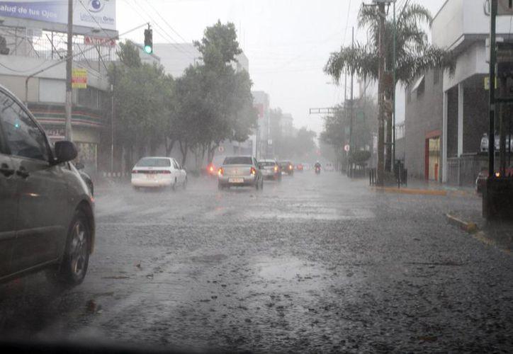Se registrarán precipitaciones  muy fuertes en Ciudad de México, Morelos, Puebla y Quintana Roo. (Notimex)