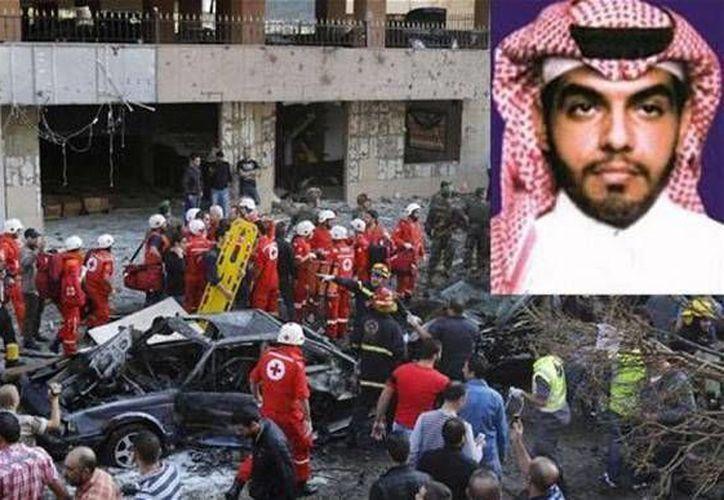Majid al Majid fue arrestado en Beirut, Líbano, por sus nexos con el atentado en la embajada iraní en noviembre de 2013, que le costó la vida a 25 personas. (telegraph.co.uk)