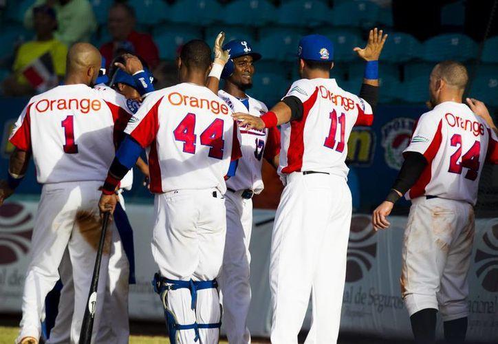 En la imagen, jugadores Tigres del Licey de República Dominicana. (EFE/Archivo)