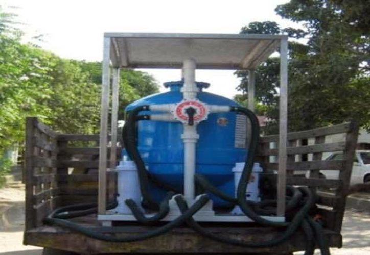 La Conagua cuenta con planta para potabilizar agua. (SIPSE)
