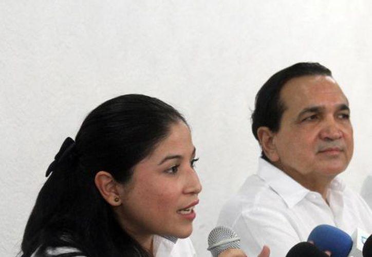 Alicia Núñez Turriza, subdelegada de Auditoria Ambiental de la Profepa, dijo que las empresas aprenderán a hacer más con menos gracias al programa Liderazgo Ambiental para la Competitividad. (SIPSE)