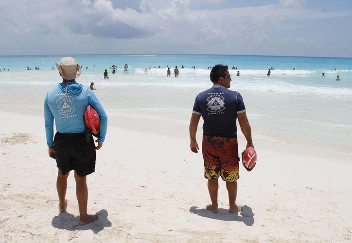 Garantizarán la seguridad de los bañistas en este destino turístico. (Sergio Orozco/SIPSE)