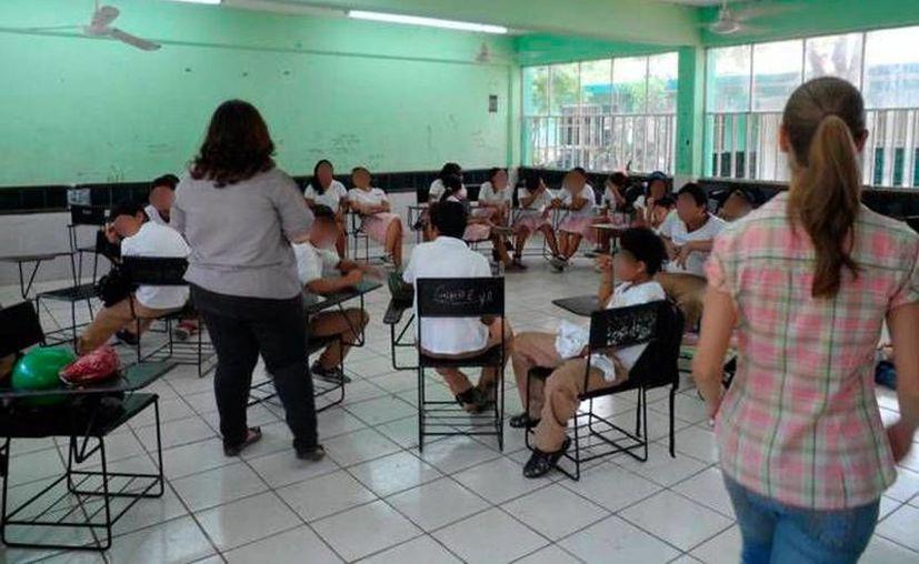Los estudiantes regresarán a clases hasta el 20 de abril. (Novedades Yucatán)