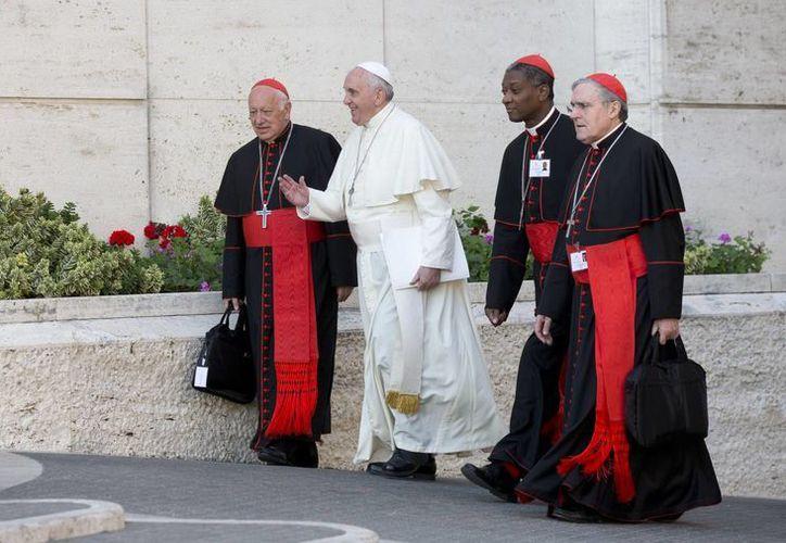 El Papa Francisco a su llegada al Sínodo de Obispos en el Vaticano. (Agencias)