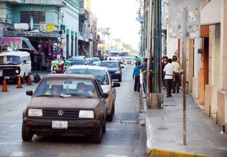 La calle 60 del Centro Histórico será sometida a obras de rehabilitación. (Milenio Novedades)