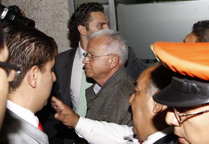 El exgobernador de Tabasco, Andrés Granier, sufre de hipertensión. (Archivo/NTX)