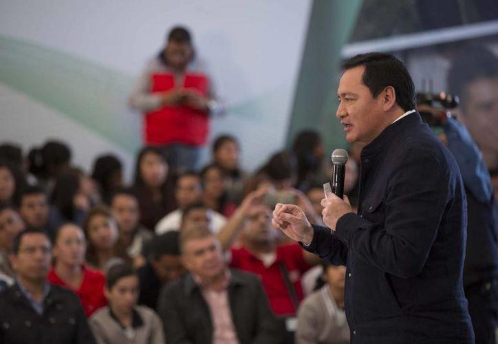 El secretario de Gobernación, Miguel Ángel Osorio Chong, inauguró el miércoles 12 de octubre de 2016,, en Jojutla, Morelos, el Sexto Congreso internacional de Lucha contra el Secuestro y la Extorsión. (Archivo/Notimex)