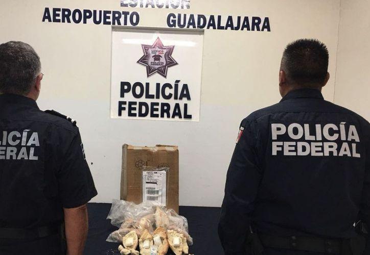El paquete donde estaba el pan tenía como remitente un domicilio en la ciudad de Guadalajara. (El Financiero)