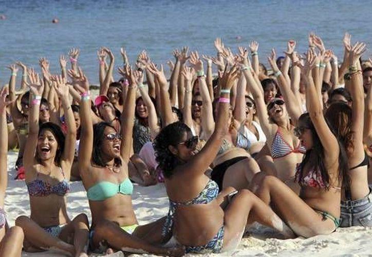Debido a sus características y playas los destinos de Quintana Roo fueron los más visitados en 2014. (Cortesía/CNN México)