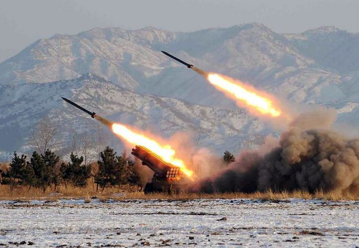 Corea del Norte llevó a cabo una prueba de misil balístico. (El Mañana)