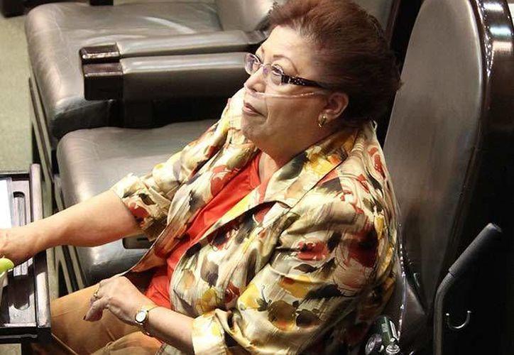 La dirigencia del PAN lamentó la muerte de la diputada tamaulipea María Eugenia de León Pérez. (enlineadirecta.info)