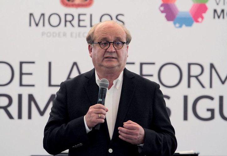 Graco Ramírez es gobernador de Morelos. (Notimex/archivo)