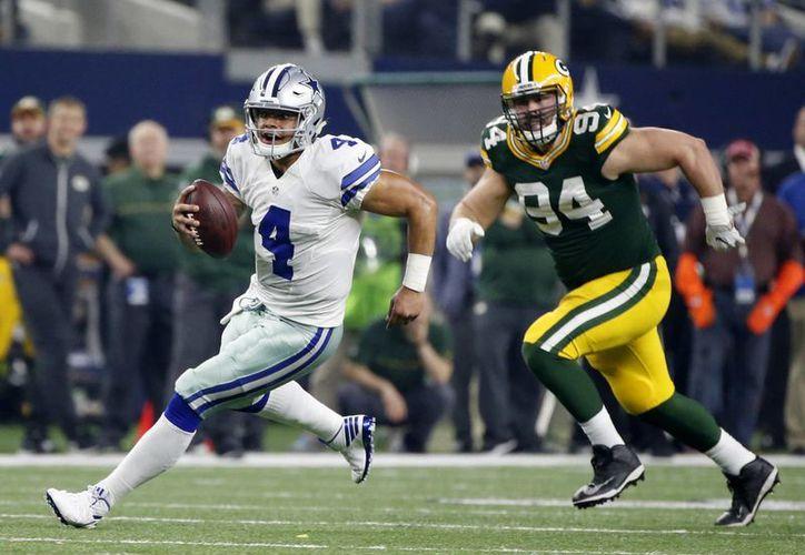 Dallas quedó eliminado de la postemporada de la NFL, luego de caer dramáticamente ante los Empacadores de Green Bay.(Michael Ainsworth/AP)