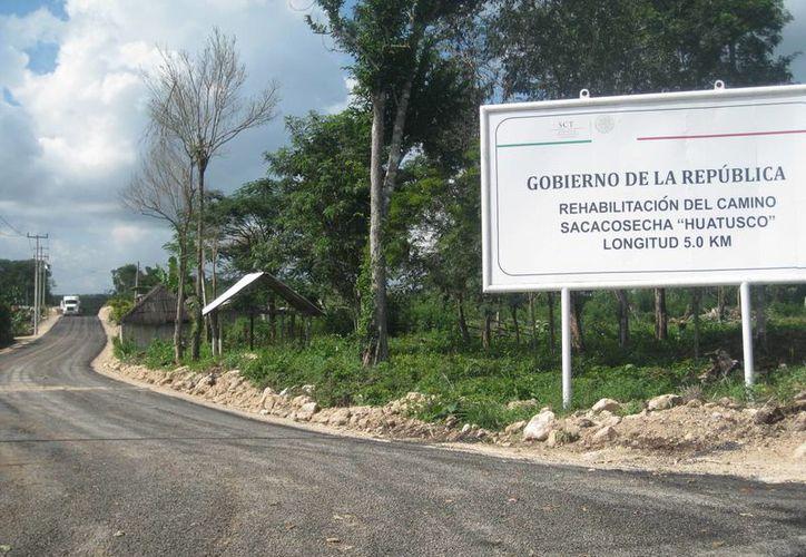 Los productores de la comunidad de Chacchobén piden a las autoridades la construcción de 15 kilómetros de caminos sacacosechas. (Javier Ortiz/SIPSE)
