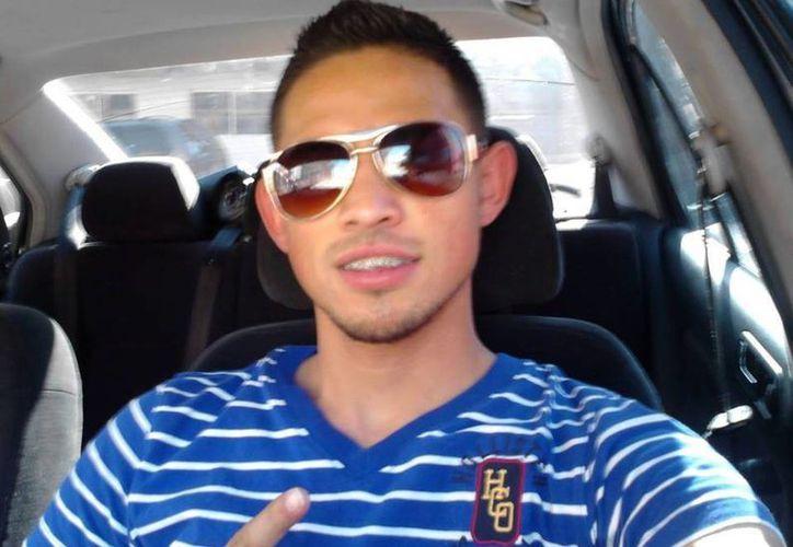 La foto que Alexis Omar Balderrama Gutiérrez tenía en su perfil de Facebook.