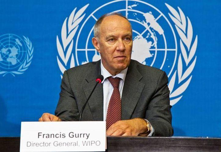 Francis Gurry, director general del OMPI, subrayó que es mejor innovar que copiar lo que hacen otros países. (www.un.org/Archivo)