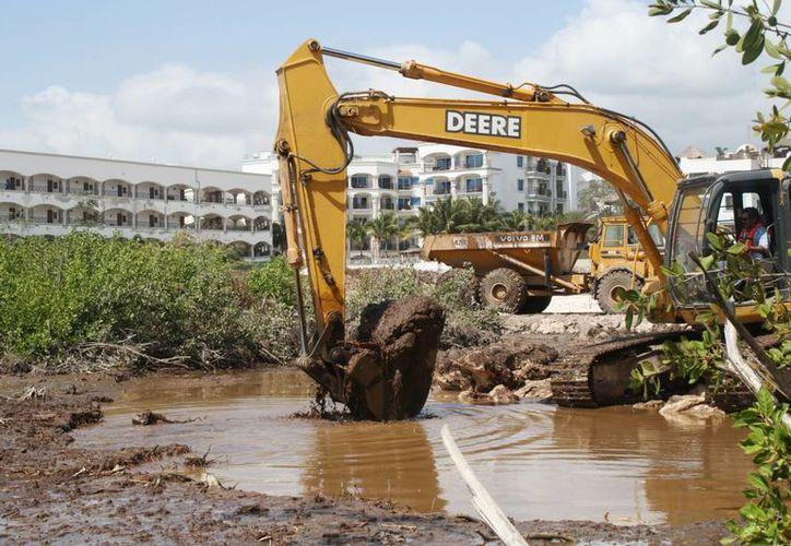 Algunas obras ya se encuentran en construcción en el municipio. (Adrián Barreto/SIPSE)