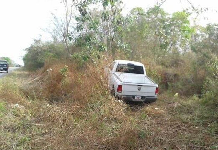 La unidad accidentada era conducida por Augusto Manzanero, de 35 años. (Milenio Novedades)