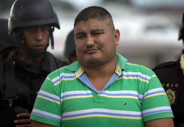 Villatoro Cano fue entregado a Guatemala bajo fuertes medidas de seguridad. (EFE)