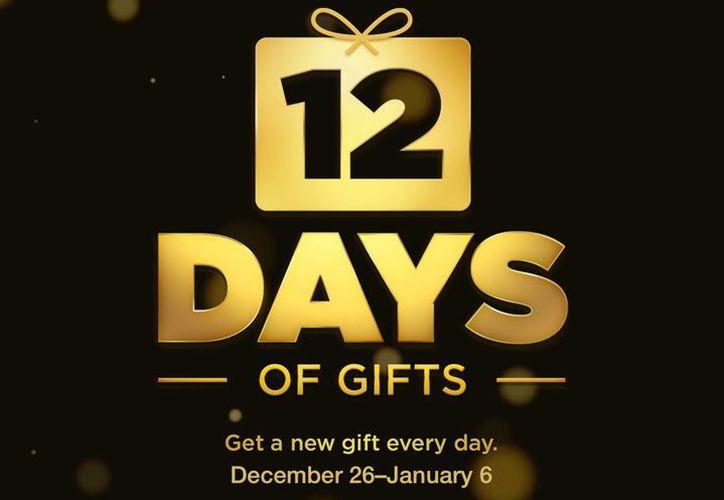 A través de la app 12 días de regalos' (12 days of gifts), los usuarios de Apple podrán hacer descargar gratuitas del 26 de diciembre al 6 de enero. (fairerplatform.com)