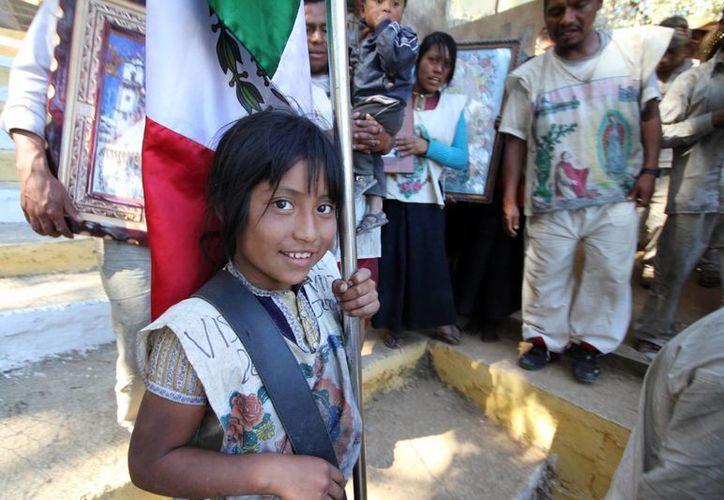 Para salir adelante, las niñas de las comunidades chiapanecas tienen que 'rebelarse' y salir del pueblo. (Archivo Notimex)