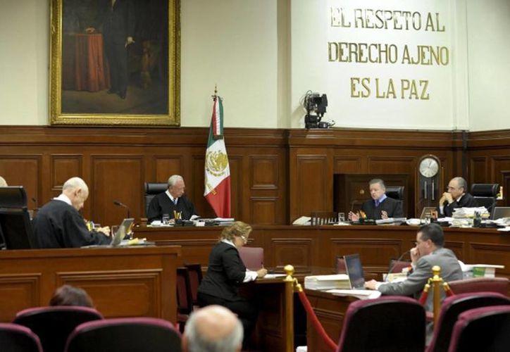 Magistrados, jueces y especialistas de diversos países participan en el Seminario Internacional de Transparencia Judicial 2014. (Archivo/Milenio)
