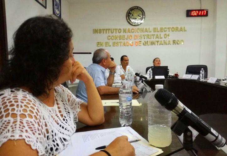 Estas actividades son de mucha ayuda al INE, ya que de esa manera alistan el panorama presupuestal. (Foto: Octavio Martínez/SIPSE)