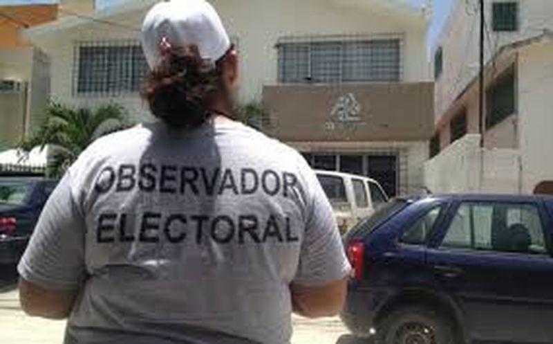 Vigilantes en esta contienda electoral. (SIPSE)