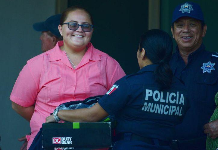 La ex policía llega a Protección Civil con cargo de coordinadora. (Gustavo Villegas/ SIPSE)