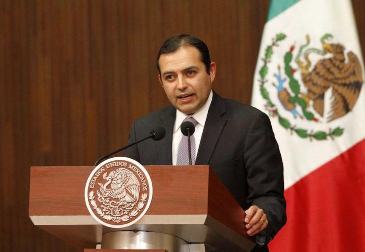 Cordero fue cesado ayer como líder de la bancada panista en el Senado. (Archivo/Notimex)