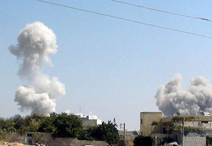 Unos siete misiles fueron disparados al vehículo del líder terrorista, señalan informes. (Agencias)