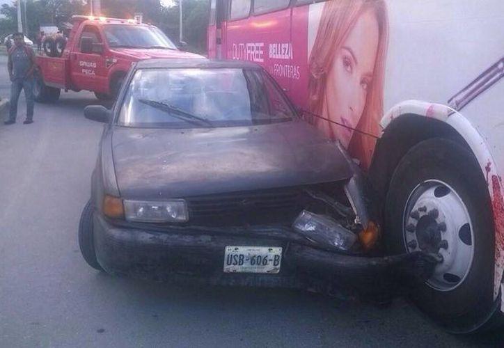 Los daños por los accidentes aún no han sido cuantificados. (Redacción/SIPSE)