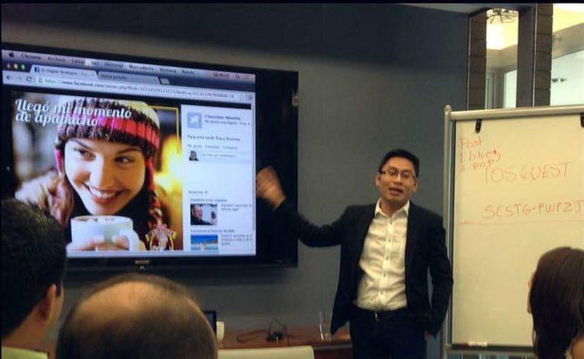 Ofrecen curso de estrategia digital directores de Krow Agency. (Milenio Novedades)