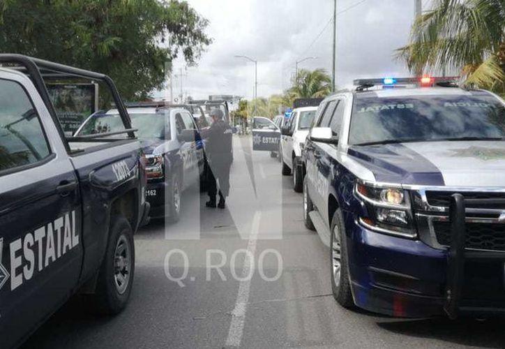 Autoridades policíacas se encuentran en la zona. (Paola Chiomante)