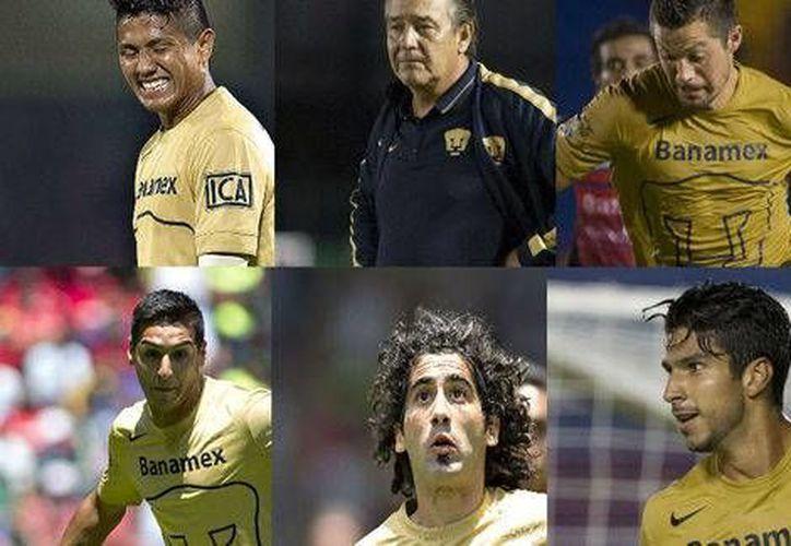 Pumas acumula cuatro goles en tres encuentros disputados en el Apertura 2014. (Milenio)