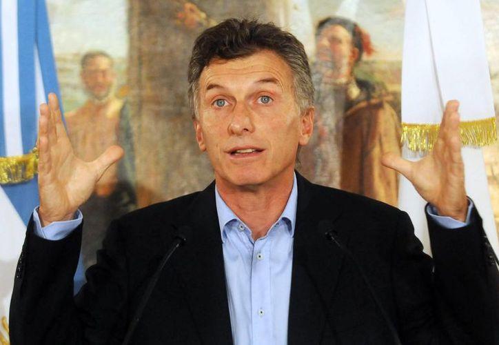 Mauricio Macri, el nuevo presidente de Argentina, tiene como misión corregir los errores de la administración kirchnerista y sacar adelante a su nación. (Archivo/EFE)