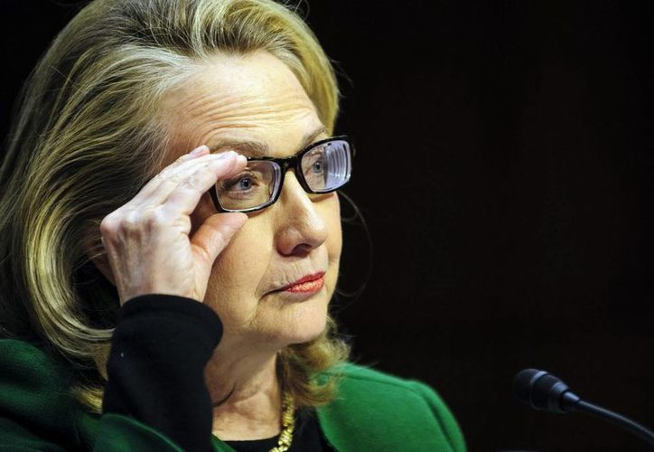 Clinton parece plenamente recuperada. (EFE)
