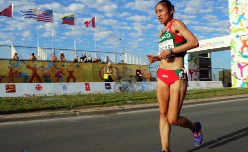 Una de las mejores opciones para llegar al podio es la medallista olímpica Guadalupe González en la marcha. (Despertar Oaxaca)