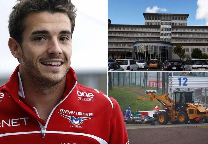 Jules Bianchi perdió el control de su auto y se estrelló contra una grúa. (mirror.co.uk/Foto de archivo)