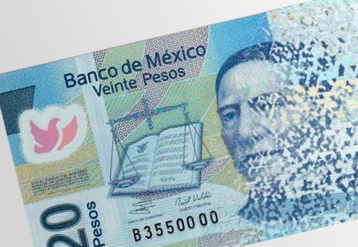 Se 'muda' Benito Juárez de billete y le dicen adiós al de 20 pesos. (Contexto/Internet)