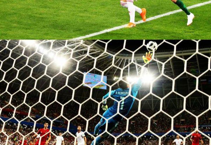 En medio de un partido muy trabado, muy complicado, Quaresma sacó de la chistera un golazo de tres dedos. (Foto: Twitter @Invictos)