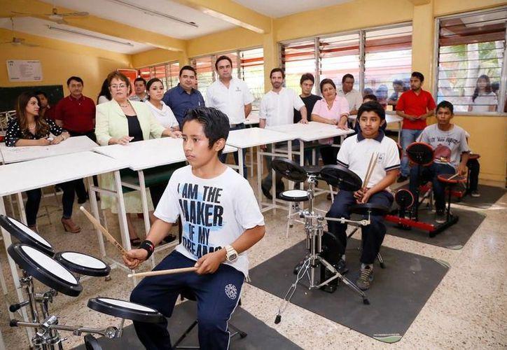 Ampliando el Desarrollo de los Niños promueve actividades musicales. (Milenio Novedades)