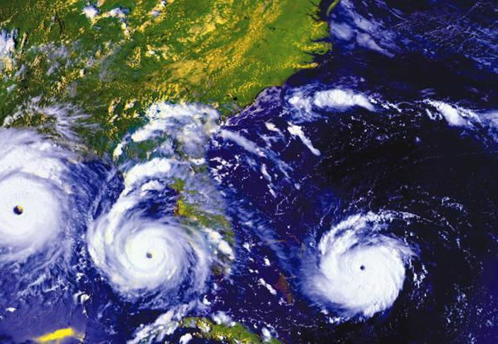 El nombre de los huracanes se determinaba por el santo del día en que se manifestaba la tormenta. (Noticiasya)